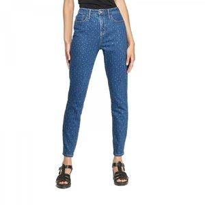 Wild Fable High Rise Studded Skinny Jeans Size 4